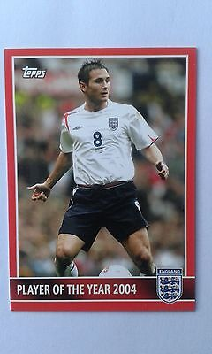 2005 Topps Frank Lampard Chelsea & England Football Card