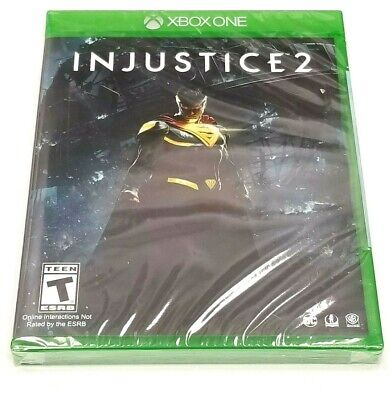Injustice 2 for Microsoft XBOX ONE *BRAND NEW*