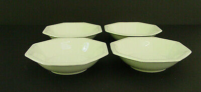 Johnson Brothers Heritage White 4 fruit dessert bowls Ironstone Made in England