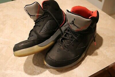 pretty nice 97fa5 67037 Nike Air Jordan 679680-020 Flight Remix Black Infrared 23 Grey Sneakers Size  12