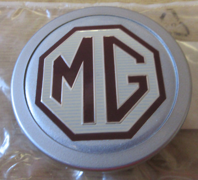 MGF TROPHY (New RARE Genuine MG ROVER ) ALLOY WHEEL CENTRE CAP  DTC000050MBA