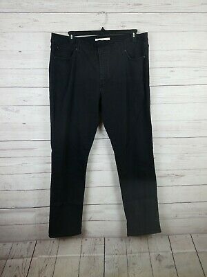 7a311bfb8e0b2 WOMENS LEVIS BLACK jeans perfectly shaping pull on legging 16W med ...