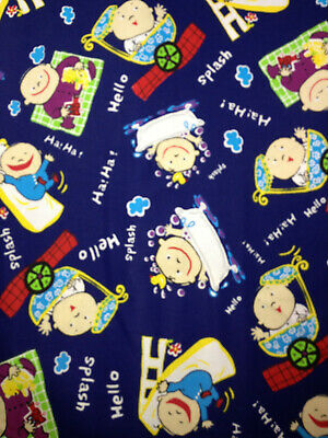 Disney Sleeping Beauty Allover  Quilting Sewing Fabric 45cm x 55cm