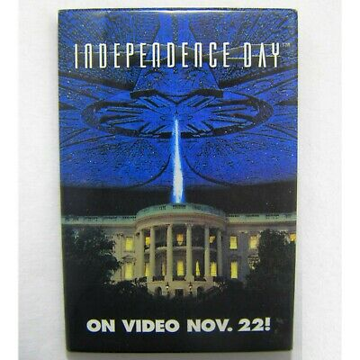 INDEPENDENCE DAY 90s STORE STAFF NOT FOR SALE PROMO BADGE PIN BUTTON FILM MOVIE