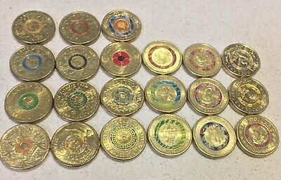 Complete Sets $2 Two Dollar Coin BULK LOT 21 Coins Collectables Cir