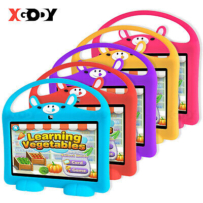 7'' inch Quad Core HD Kids Tablet PC Android 8.1 16GB Dual Camera WiFi