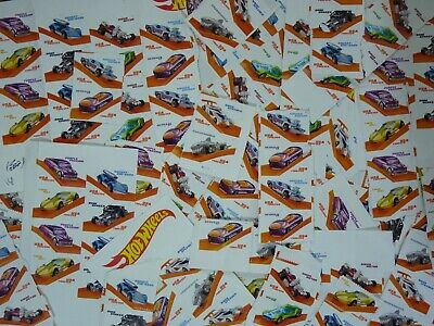 USPS First-Class FOREVER Hot Wheels Blocks of 2 or More 100 Stamps Value $55