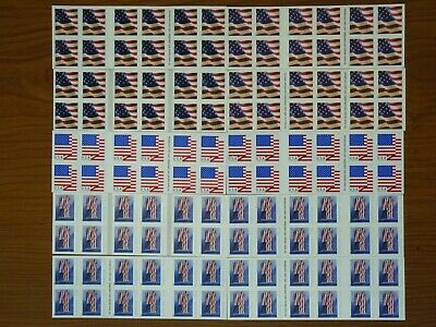 USPS FOREVER STAMPS Hinged or No UPC 10 Books Of 20 = 200 Stamps Value $110