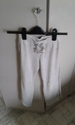 next girls trousers, to fit 8 years old, light grey, used