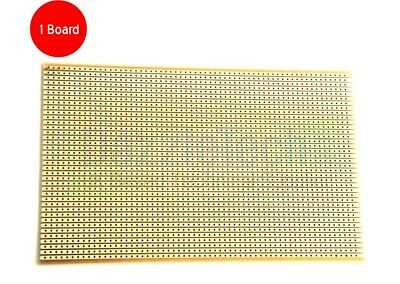 Copper stripboard 100 x 160mm 38 strip x 61 hole prototype vero board gold-plate