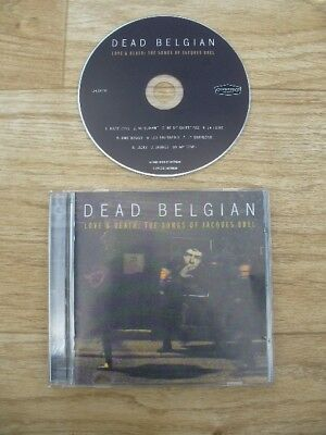 Dead Belgian - Love & Death (The Songs of Jacques Brel) 10 Track CD 2012 (VGC)