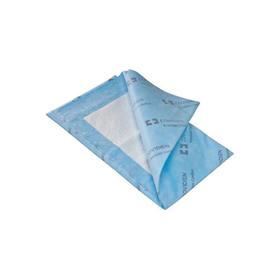 """Covidien P3036C Wings Quilted Premium Comfort Underpads, 30"""" x 36"""" Size, Blue,"""