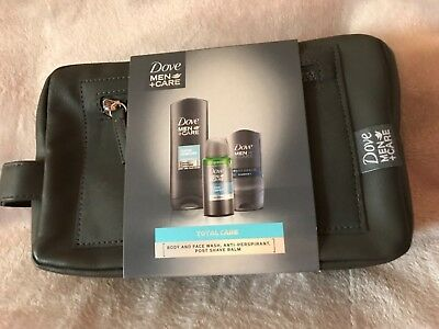 Dove Men+Care Total Care Wash Bag Full Size Products BNIP