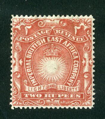 British East Africa/KUT 1890. 2r brick red. MH. SG 16.