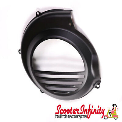Flywheel Cowling/Cover (Black) Without Electric Start - Vespa PX80-200/PE Lusso