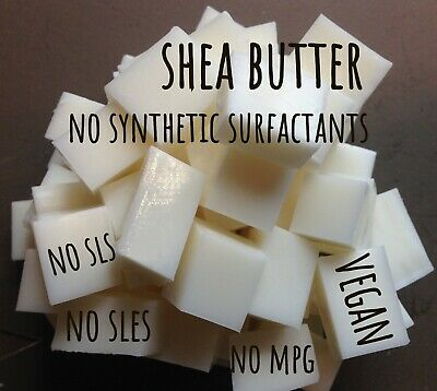 SHEA BUTTER White/Opaque Melt & Pour Soap Base-SLS/SLES/MPG/PEG/PARABEN FREE