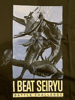 FINAL FANTASY XIV I Beat Tsukuyomi T-Shirt (Size XL) E3 2018 FF14