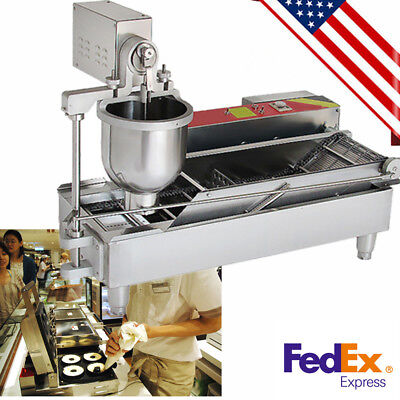 Commercial Doughnut Maker Automatic Donut Maker Making Machine 3outlets Cooking