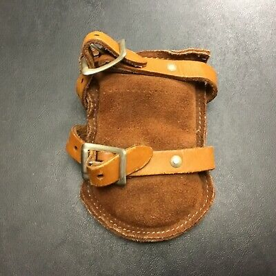 VINTAGE Suede Leather Weight Human Animal Dog Horse Child Rare