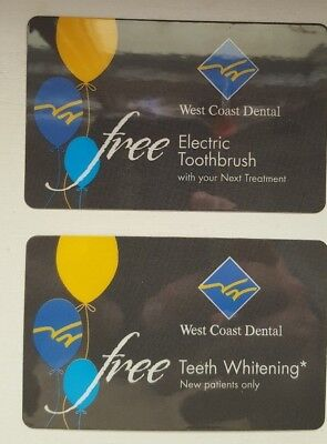 Offer for Free Electric Toothbrush & Free Teeth Whitening West Coast Dental S CA