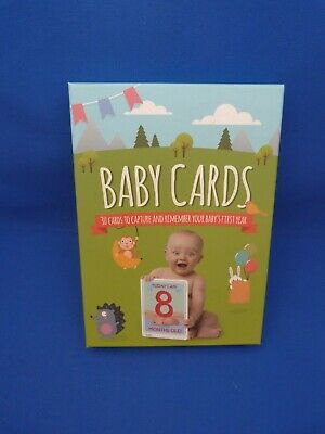 Brand New Box Of Baby Cards 30 Cards First Year Celebrations