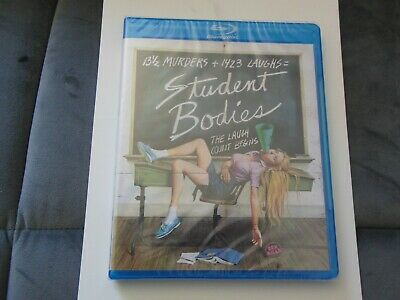 Student Bodies (Blu-ray Disc, 2015) Olive Films Horror Comedy Brand New Sealed