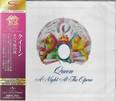 Queen A Night At The Opera Japan 2011 Rmst Shm Cd 40Th Anniversary - Brand New!