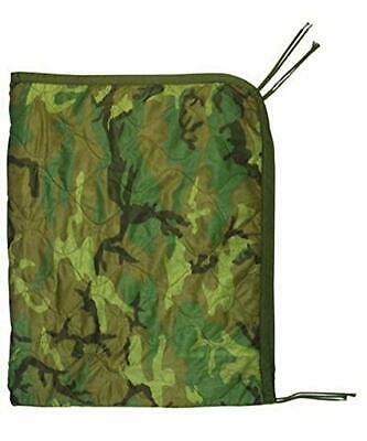 Poncho Liner Woobie Blanket Military Issue Woodland Camo BDU Wet Weather Army