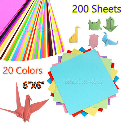 200PCS SIMPLE ORIGAMI Set Paper Airplanes Fold Fly Book Toy