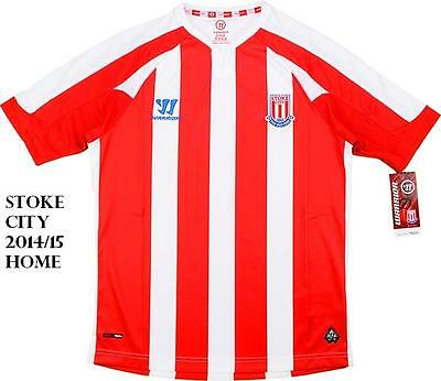 Stoke City 2014/15 Home Shirt 30/32Inches Large Boys Tags/Packet