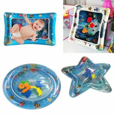 Inflatable Water Play Mat Infants Baby Toddlers Perfect Fun Tummy Time Play