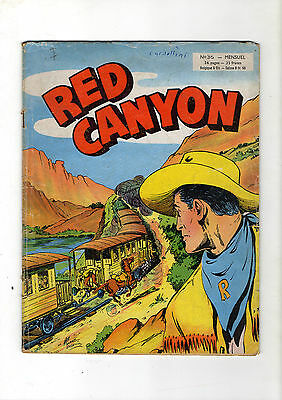► Red Canyon  N°36 - Pacific Sud - Artima 1957