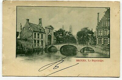 CPA - Carte Postale - Belgique - Bruges - Le Béguinage- 1901 (M8424)