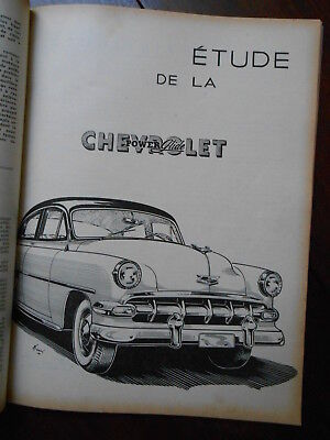 ► Revue Technique : Chevrolet Powerglide - 1954