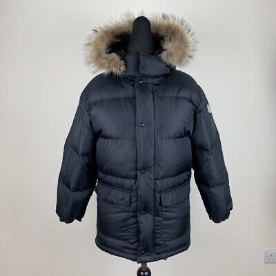 2e7cb9d83 MONCLER Women's Size 2 / Medium Benitoite Quilted Down Jacket- Navy ...
