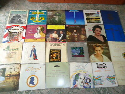 joblot X55 UK VINYL LP RECORD COLLECTION,CLASSICAL ,GREAT CONDITION MANYUNPLAYED