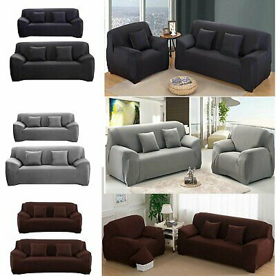 1 2 3 Seater Sofa Cover Slipcover Stretch Elastic Couch Furniture Protector BT