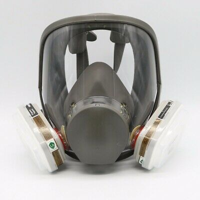 For 6800 Full Facepiece Respirator 7 Piece Suit Painting Spraying