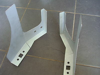 Land Rover Series /90/ 110 Bulkhead top repair panels. LH + RH PAIR