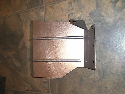 LAND ROVER discovery 1  Galvanized Rear Mud Flap Bracket  LEFT HAND