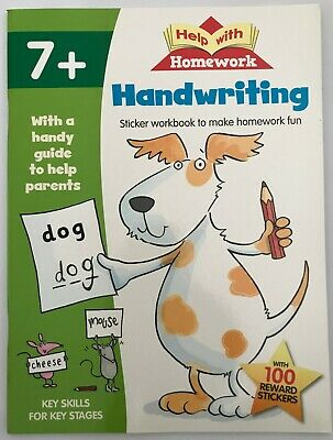 Help with Homework  Handwriting Book Ages 7+  KS2 NEW!!!