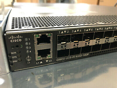 CISCO UCS-FI-6332-16UP UCS 6332 Fabric Interconnect 40 ports