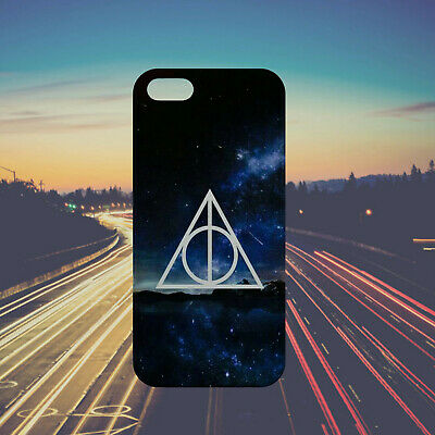 Deathly Hallows Harry Potter Midnight Case Cover iPhone Samsung Huawei Google