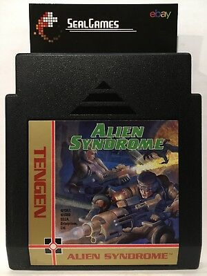 Alien Syndrome (Nintendo Entertainment System, NES 1988) Authentic Oem *TESTED*