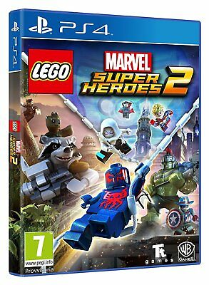 Lego Marvel Super Heroes 2  Versione Ufficiale Italiana Nuovo Playstation 4  Ps4