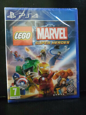 Lego Marvel Super Heroes  Versione Ufficiale Italiana Nuovo Playstation 4  Ps4