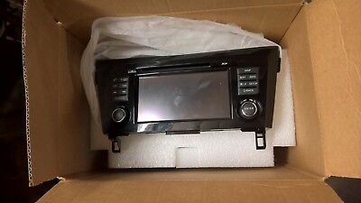GENUINE NISSAN QASHQAI J11 2014 on SAT NAV RADIO HEAD UNIT 25915 HV01A