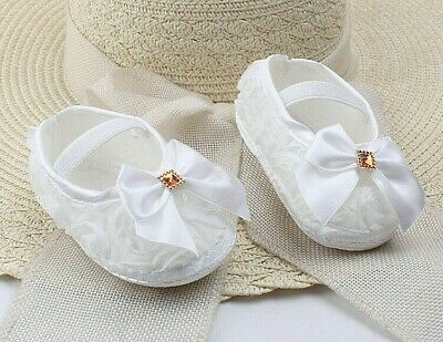 GIRLS IVORY-SHORT ANKLE SOCKS BRIDESMAID DIAMANTE-LACE-SATIN BOW-FLOWER GIRL