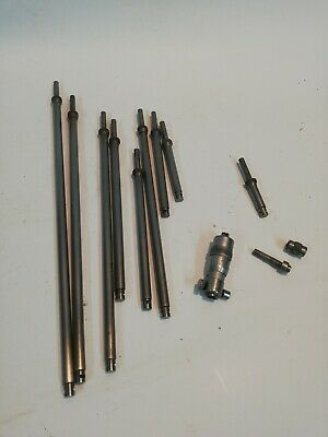 """Moore and Wright Bore Gauge Internal Micrometer 2"""" to 12"""" complete set"""