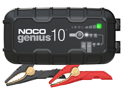 Noco Genius Battery Charger Genius10 6V/12V 10A Lithium Compatible New Popular